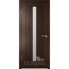 """Межкомнатная дверь ПВХ """"CLSigma 22"""" со стеклом"""