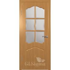 """Межкомнатная дверь ПВХ """"CLSigma 32"""" со стеклом"""
