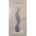 """Межкомнатная дверь ПВХ """"CLSigma 42"""" со стеклом"""