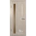 """Межкомнатная дверь ПВХ """"CLSigma 62"""" со стеклом"""