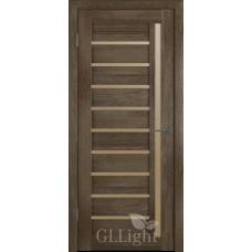 Царговая межкомнатная дверь ПВХ 3D GL Light 11