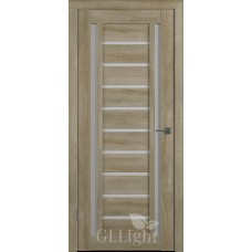 Царговая межкомнатная дверь ПВХ 3D GL Light 13