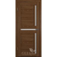 Царговая межкомнатная дверь ПВХ 3D GL Light 16