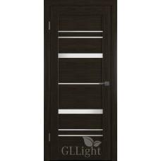 Царговая межкомнатная дверь ПВХ 3D GL Light 25