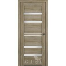 Царговая межкомнатная дверь ПВХ 3D GL Light 26