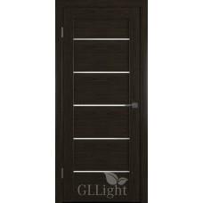 Царговая межкомнатная дверь ПВХ 3D GL Light 27