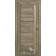 Царговая межкомнатная дверь ПВХ 3D GL Light 9