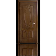 Межкомнатная дверь шпонированная Барселона глухая
