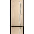 Межкомнатная дверь шпонированная Омега ДУ со стеклом