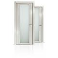 Межкомнатная дверь шпонированная Qdo Xb со стеклом