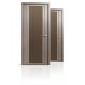 Межкомнатная дверь шпонированная Qdo Xbr со стеклом