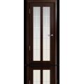 Межкомнатная дверь шпонированная Дана со стеклом