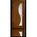 Межкомнатная дверь шпонированная Элиза со стеклом