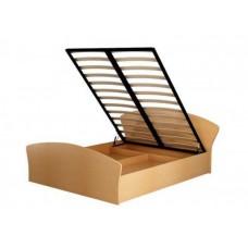 Кровать с подъемным механизмом, кромка кант (односпальная и двуспальная)