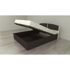 Кровать с подъемным механизмом, кромка ПВХ (односпальная и двуспальная)