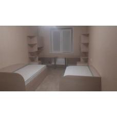 Детская комната для двоих + шкаф купе