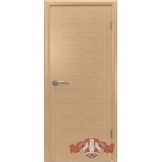 "Межкомнатная дверь натуральный шпон гладкая ""Соло"" глухая"