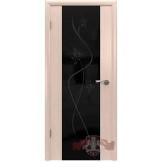 Межкомнатная дверь Рондо триплекс черный