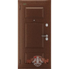 Входная металлическая дверь Комфорт 3 антик медь