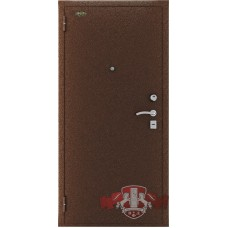 Входная металлическая дверь ВФД Стандарт антик медь