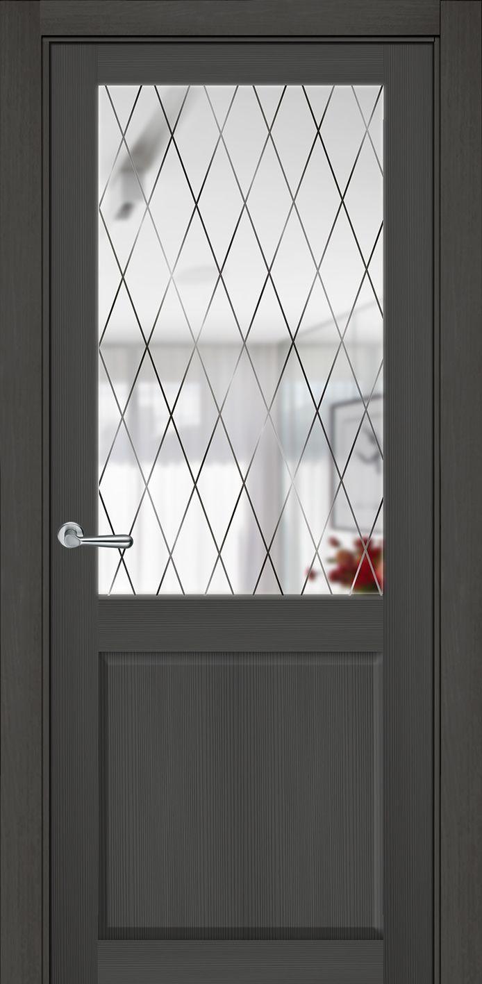 Межкомнатная дверь экошпон ZO-1Ромб купить в Челябинске недорого