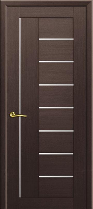 Царговая межкомнатная дверь Рондо экошпон Альтернатива