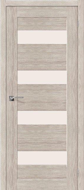 Межкомнатная царговая дверь цвета капучино