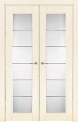 Двустворчатая распашная дверь двойная равнопольная