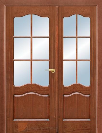 Двустворчатая распашная дверь двойная в Челябинске купить