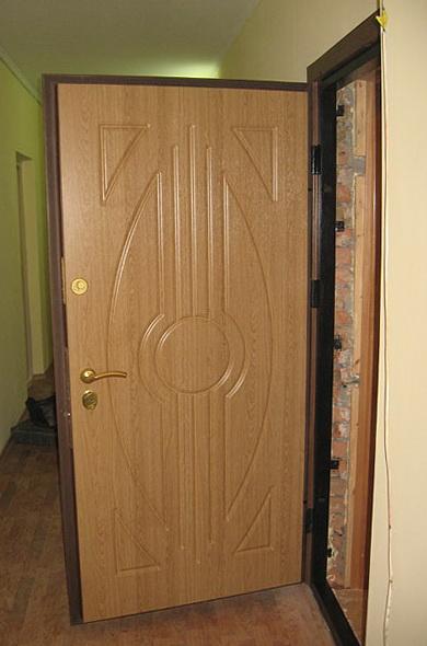 Современные входные двери с МДФ покрытием
