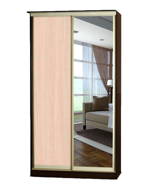 Шкаф-купе Версаль с зеркалом вместо двери купить в Челябинске недорого