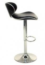 Барный стул WY-413 D с каркасом зеркальный хром