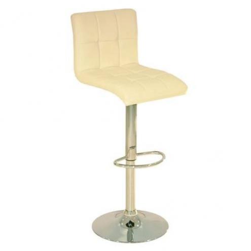 Барный стул JY-1005 с каркасом зеркальный хром