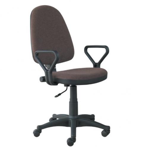Офисное кресло Престиж черное купить в Интернет-магазине Челябинска
