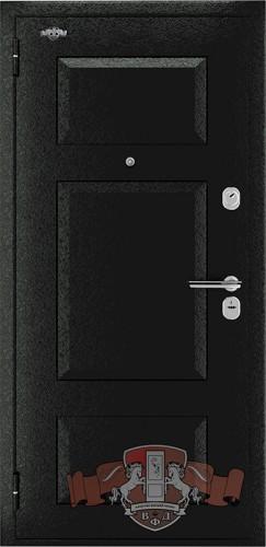 Входная металлическая дверь Комфорт 3 черный крокодил купить в Челябинске