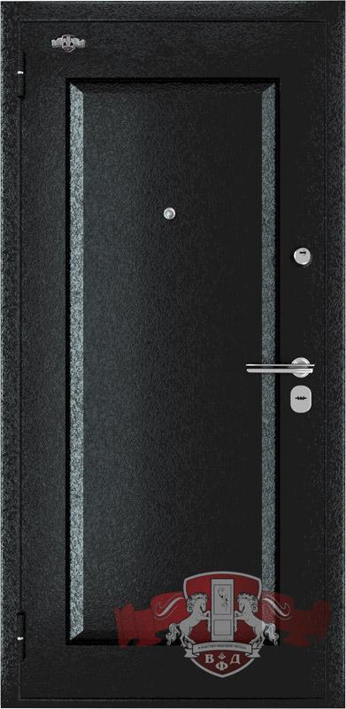 Входная металлическая дверь Комфорт графит